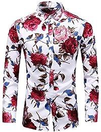 bd344f4c061f2 Camisas De Manga Larga Impresas De Fábrica De Amazon Venta Al por Mayor  Camisas De Hombre