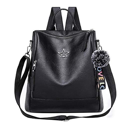 QUICKLYLY Bolso Mujer Bandolera Portatil Bolsa Mensajero Tote Shopper Callejero Bag Tirantes...