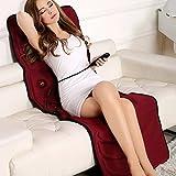 Sedie e materassini per massaggi elettrici Massaggiatore elettrico Cuscino di massaggio multifunzionale per tutto il corpo Massaggiatore cervicale Massaggiatore per le gambe con spalle scoperte