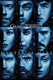 Game of Thrones 'Winter Ist Hier' Maxi Poster, 61 x 91.5 cm Mehrfarbig
