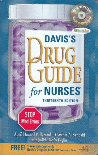 Daviss Drug Guide For Nurses 13Ed (Pb 2013)