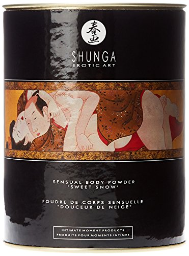 Shunga Edible Body Powder, Essbares Massagepuder, Honey, 228g