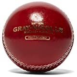 Gray-Nicolls Crest Academy Cricket Ball, Red, Senior