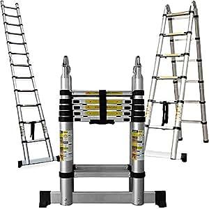 multifunktionsleiter teleskopleiter 3 80m multifunktionale leiter mit sicherheitsarretierung. Black Bedroom Furniture Sets. Home Design Ideas