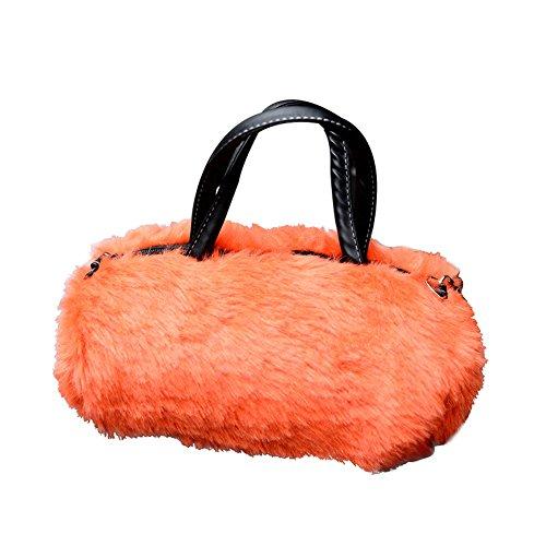 Flyingsky im Herbst und Winter Die Tasche Einer Umhängetasche Handtasche Tasche orange