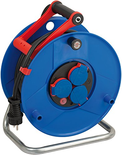 Price comparison product image Brennenstuhl 1208440 Garant IP44 for Industry/Construction Site Cable Drum 25 m