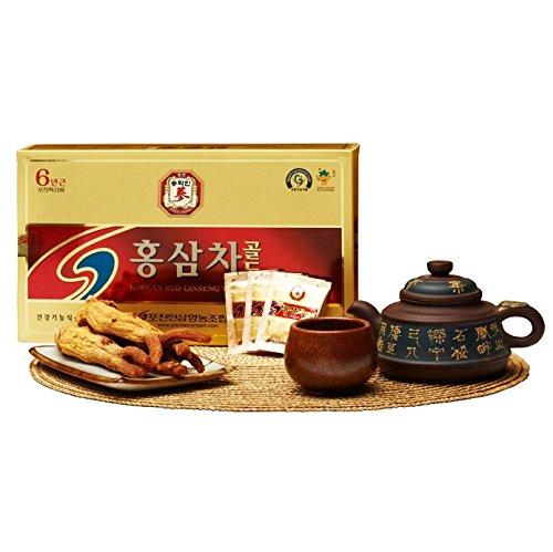 Pocheon Ginseng 300g(100p x 3g) Koreanischer 6 Jahre Panax Roter Ginseng Extrakt Tee Gold, 15{09db02b1fa220702ec1254dea565eef62ba94d45de3ca1b55ebbbbd6e695ea31} Extrakt