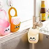 3 PCS Quick Dry Hanging Kitchen Sink Organizer Ablaufablage und Schwammhalter Küchengeräte