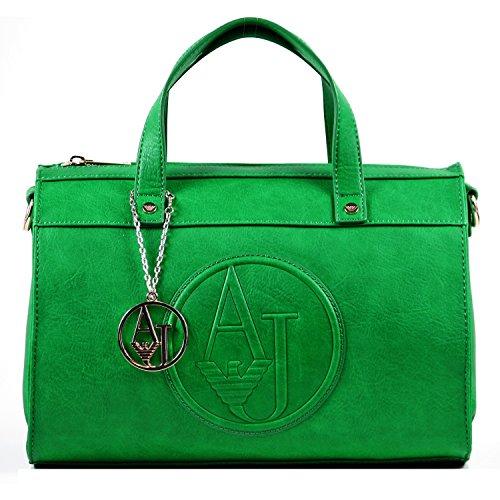 Armani Jeans, Borsa a tracolla donna Verde