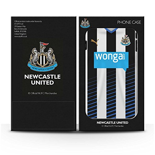Offiziell Newcastle United FC Hülle / Gel TPU Case für Apple iPhone 6 / Pack 29pcs Muster / NUFC Trikot Home 15/16 Kollektion Fußballer