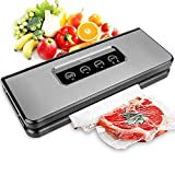 Vacuum Sealer Machine, Toyuugo Automatic Food Sealer with Starter Kit of Cutter