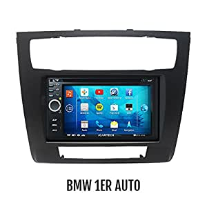 ► Alpha S700 for BMW 1 Series E81 / E82 / E87 / E88 ◄ The bärenstarke Android Radio with GPS Wifi Bluetooth ✔ ✔ ✔ Multi-Touch 3 g Display ✔ ✔ Navigation ✔ preparation for: TV (DVB-T) &digital Radio with DAB, Dash CAM (DVR), Apps like Extension cheaper fuel, Spotify u.V. M + Wifi Mirroring iPhone 4,5,5 C s Display Mirroring / Car Radio / Navigation System