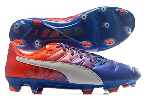 Puma Ep 1.3 Lth Fg Q4, Chaussures de Football Entrainement Mixte Adulte blue