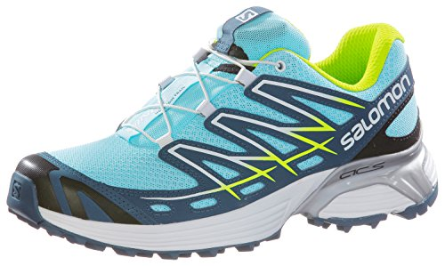 Salomon Wings Flyte W, Scarpe sportive, Donna Blue