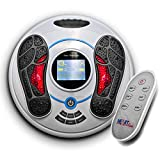 Heartline Electromagnetic Foot Massager & Body Therapy Machine, 25 Massage Modes, Remote Control