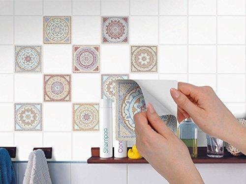 Adesivo per piastrelle adesivi in pvc per piastrelle per bagno e