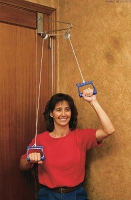 Tür-Trainingsgerät / Fitnessgerät, mit Rolle