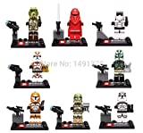 Best Clone Troopers - 24pcs/lot Star Wars Minifigures Clone Trooper Yoda Obi-wan Review