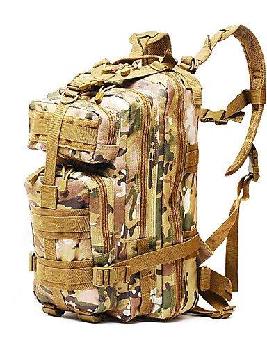 HWB/ 55 L Rucksack Camping & Wandern Draußen Multifunktions Schwarz / Braun / Armeegrün Nylon Other digital desert
