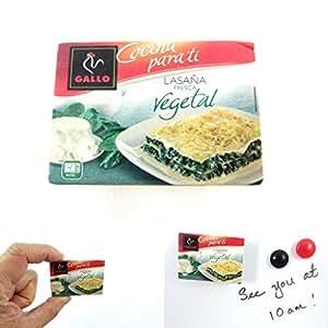 albotrade miniature aimant gallo lasana marque espagnole ll7344 cuisine maison. Black Bedroom Furniture Sets. Home Design Ideas