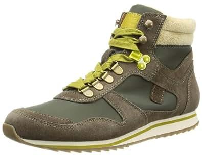 Marc O'Polo Sneaker 10963501611, Damen Sneaker, Grün (oliv 415), EU 39