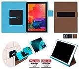 reboon Hülle für Samsung Galaxy NotePRO 12.2 Tasche Cover Case Bumper   in Braun   Testsieger