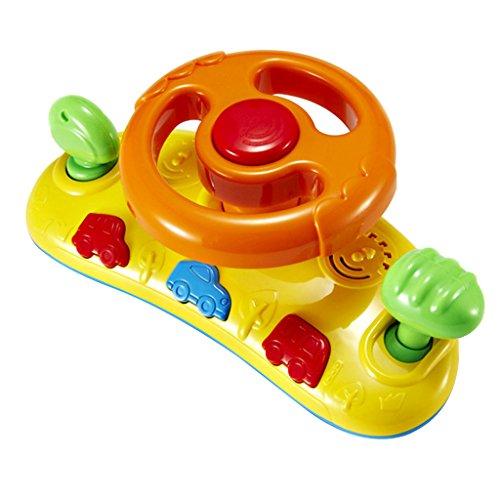 Baby Erste Kinderauto Lenkrad Kinderwagen-Ton-Spielzeug