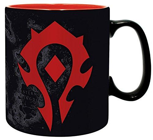 Abystyle World of Warcraft Tasse, 460 ml, Horde