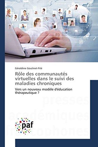 Rôle des communautés virtuelles dans le suivi des maladies chroniques