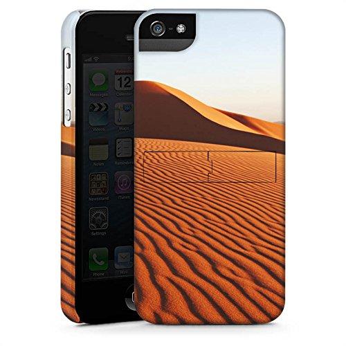 Apple iPhone X Silikon Hülle Case Schutzhülle Wüste Sand Dünen Premium Case StandUp