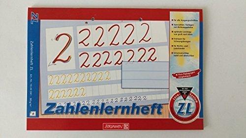 Brunnen Lernheft Zahlenlernheft  / Din A4 quer MATHE