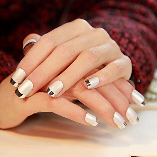 24pcs-matte-avec-metallic-acrylique-franais-faux-ongles-faux-ongles-cover-nail-art-medium-conseils