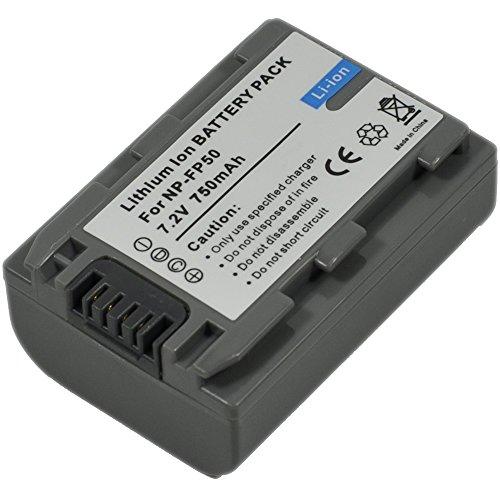 NP Fp50batterie pour Sony FP70...