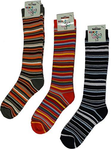 socks-pur-termica-kniestrumpfe-ringel-completo-rizo-pack-de-3-3468neu-kahki-terakotta-marine-31-34
