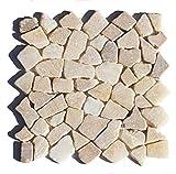 M-011 Onyx Bruchstein Badezimmer Mosaikfliesen Naturstein Fliesen Lager Verkauf Stein-Mosaik Herne NRW