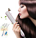 KINGDOMCARES Professional Hair Straightening Brush Ceramic Curling Hair Straightener