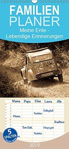 Meine Ente - Lebendige Erinnerungen - Familienplaner hoch (Wandkalender 2019 , 21 cm x 45 cm, hoch): Antike Fotos des Kultautos Citroën 2 CV (Monatskalender, 14 Seiten ) (CALVENDO Technologie)