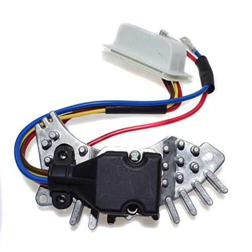 Heizung Gebläse Motor Widerstand Regler Kontrolle 20282025100148350005Für Benzs W202C220C280C36AMG 19941995
