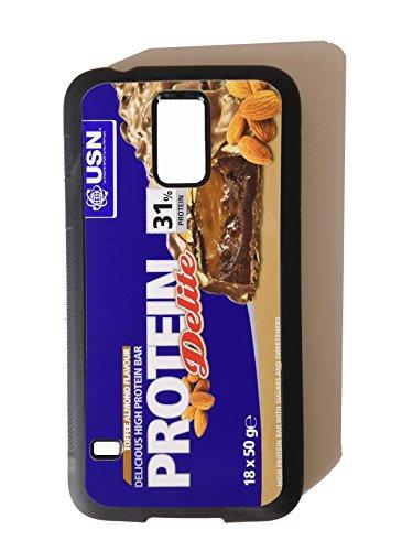Mass Fuel Whey Protein (PROTEIN BAR Design, Studio Equipment, Funny Design Samsung Galaxy S3, Samsung Galaxy S4, Samsung Galaxy S5Rubber Hard Rückseite Phonecase, Gummi, Samsung Galaxy S5)