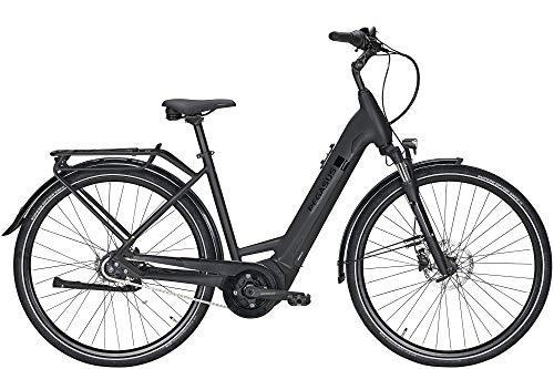 ZEG Pegasus Solero Evo 8R Damen Wave E-Bike Pedelec 2020, Farbe:schwarz, Rahmenhöhe:45 cm, Kapazität Akku:500 Wh