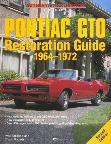 pontiac-gto-restoration-guide-1964-1972-motorbooks-workshop-by-zazarine-paul-published-by-motorbooks