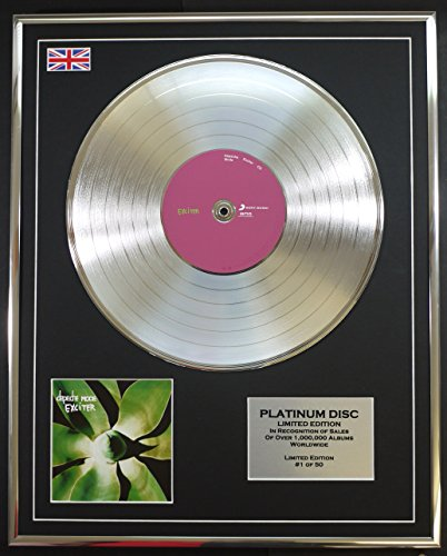 DEPECHE MODE/LTD Edizione CD platinum disc/EXCITER