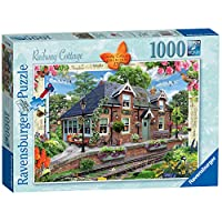 Ravensburger UK 13989 Ravensburger Country Collection No.13-Railway Cottage, 1000pc Jigaw Puzzle,