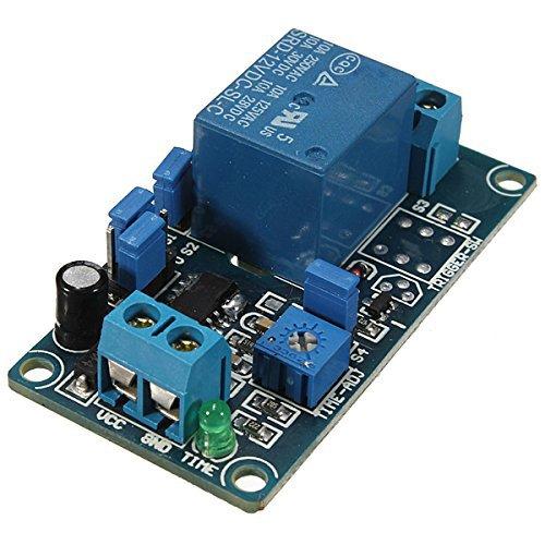 555-timer-schaltungen (SODIAL(R)12V Anschaltung Zeitrelais Verzoegerungsschalter Schaltkreis Besser als NE555)