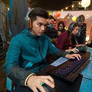 Logitech G231 Cuffie da Gioco con Microfono Prodigy Stereo per PC, Xbox One e PS4, Nero/Arancione