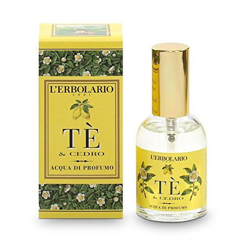 L'Erbolario Tee und Zeder Eau de Parfum, 1er Pack (1 x 50 ml)