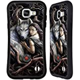 Official Anne Stokes Soul Bond Wolves 2 Hybrid Case for Samsung Galaxy A5 (2016)