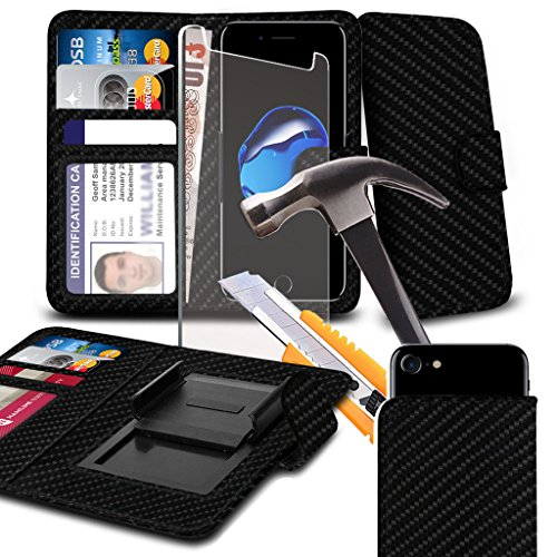 phone-accessories-pack-wallet-tempered-glass-black-carbon-case-for-fusion5-gen-ii-case-cover-pouch-h