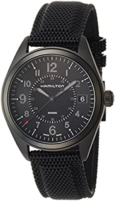 Hamilton Men's Analogue Quartz Watch with Textile Strap H68401735