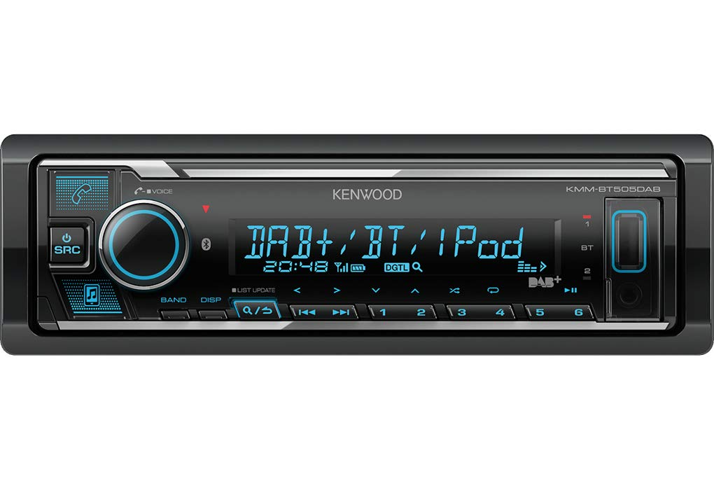 Mercedes-A-Klasse-W168-Autoradio-Radio-Kenwood-KMM-BT505DAB-DAB-Bluetooth-iPhoneAndroid-Spotify-VarioColor-Einbauzubehr-Einbauset